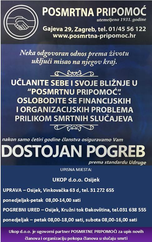 Slavonije osmrtnice glas sva.wistron.com
